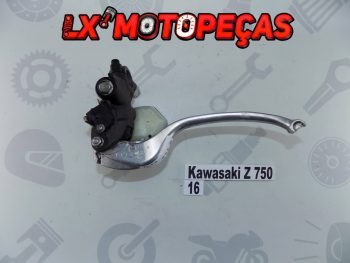 #18016 Bomba Travão Superior Kawasaki Z 750 R 11-13 cheio